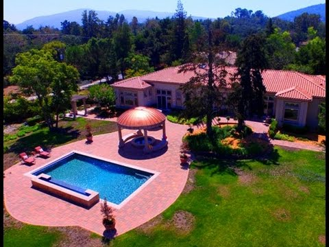 18615 Maude Ave Saratoga, CA by Douglas Thron drone real estate virtual videos tours