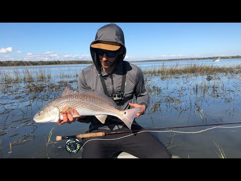 Winter Redfish And Speckled Trout FLY EATING FRENZY