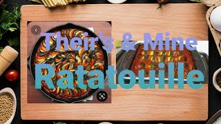 Cook With Me: Their Ratatouille Vs My Ratatouille 😋😋