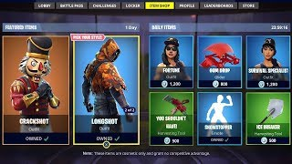 *NEW* FORTNITE ITEM SHOP COUNTDOWN! December 6th - New Skins! (Fortnite Battle Royale)