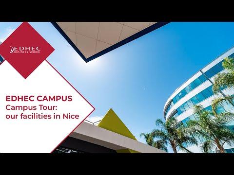 EDHEC Campus Tour: Facilities in Nice