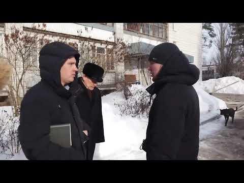 Депутаты вновь проинспектировали качество уборки снега у МКД