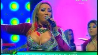 Mónica Ergueta - Tronco seco - En vivo - WWW.VIENDOESLACOSA.COM - Cumbia 2014
