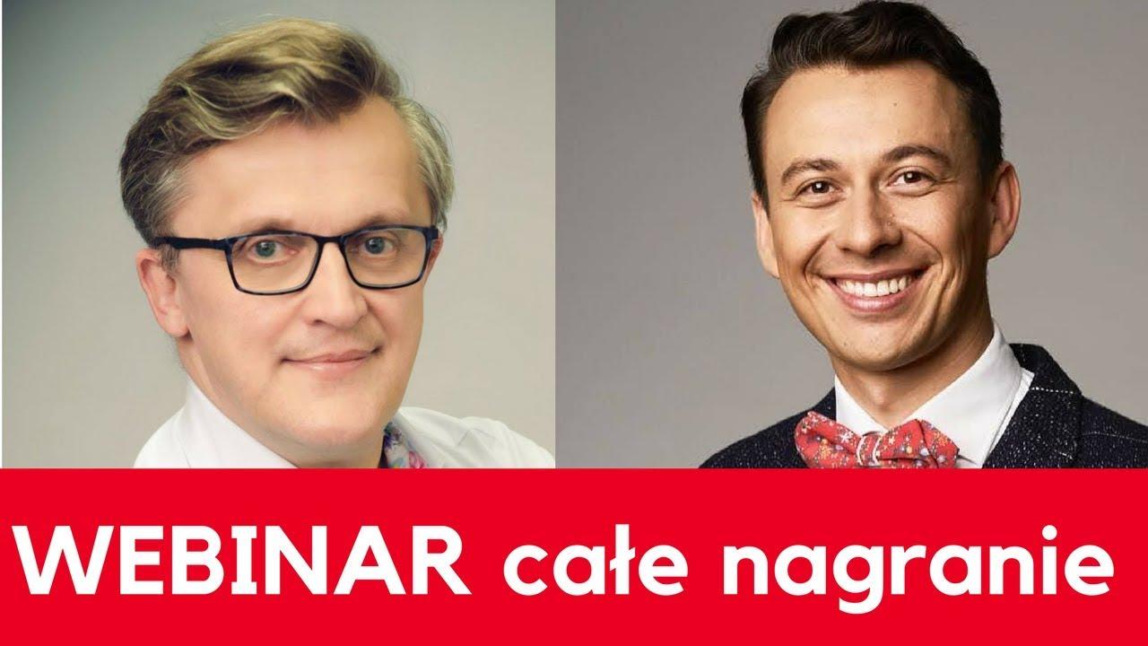 """Webinar """"Jak zarobić milion – wstęp"""" Fryderyk Karzełek i Marcin Osman"""