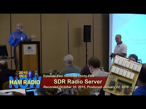 HRN 235: SDR Server (from the DCC on HamRadioNow)