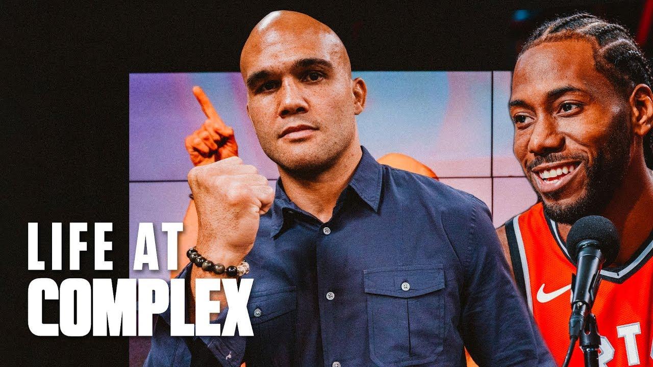 Robbie Lawler Is All Business Like Kawhi Leonard! | #LIFEATCOMPLEX