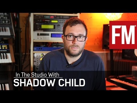 Shadow Child In The Studio making his remix of The XX's Angels