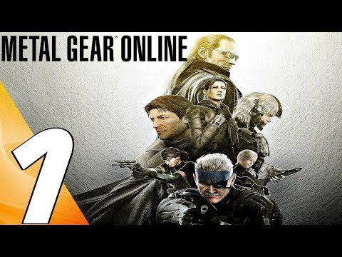 Metal Gear Online 2 - BEST MULTIPLAYER GAME? (PART 1)