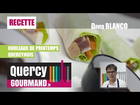 Recette : ROULEAUX DE PRINTEMPS QUERCYNOIS – quercygourmand.tv
