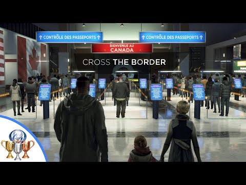Detroit Become Human Safe Harbor Trophy - How to get Kara and Alice passed the border