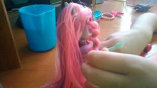 Видеоурок: как сделать кудряшки кукле .