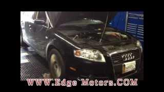 2008 Audi A4 k04 turbo install by Edge Motors video 3