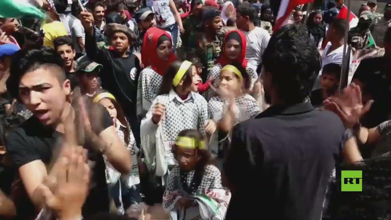 أهل دمشق يحيون يوم القدس العالمي  - نشر قبل 46 دقيقة