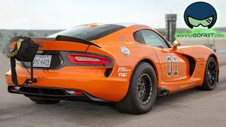 4700hp Worth Of Vipers Battle The 1/2 Mile!