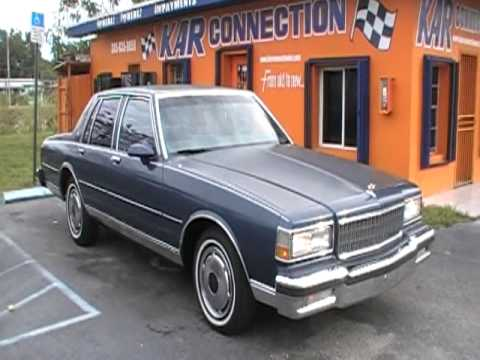 1989 Chevy Caprice Classic 50  Kar Connection Auto Sales  YouTube
