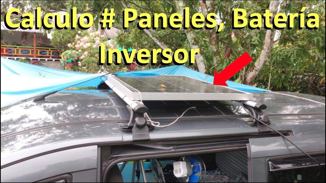 ✅ Cómo Calcular Bien el # de Paneles, Baterías e Inversor para un sistema Fotovoltaico Energía Solar