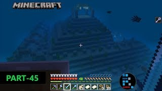 MINECRAFT GAMEPLAY | WE FOUND SECRET PLACE UNDERWATER & TREASURE MAP HUNTING#45