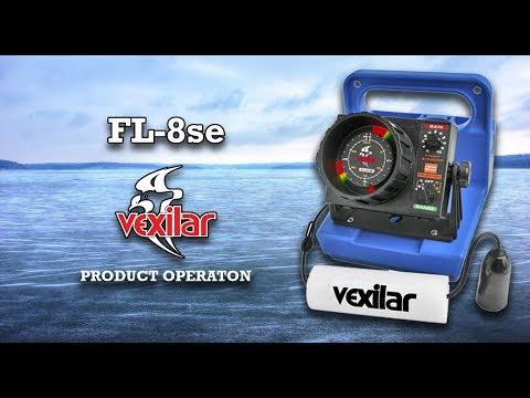The Vexilar FL 8SE Operation