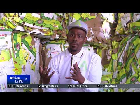Soweto-born entrepreneur makes trash profitable