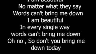 little mix - beautiful (lyrics)