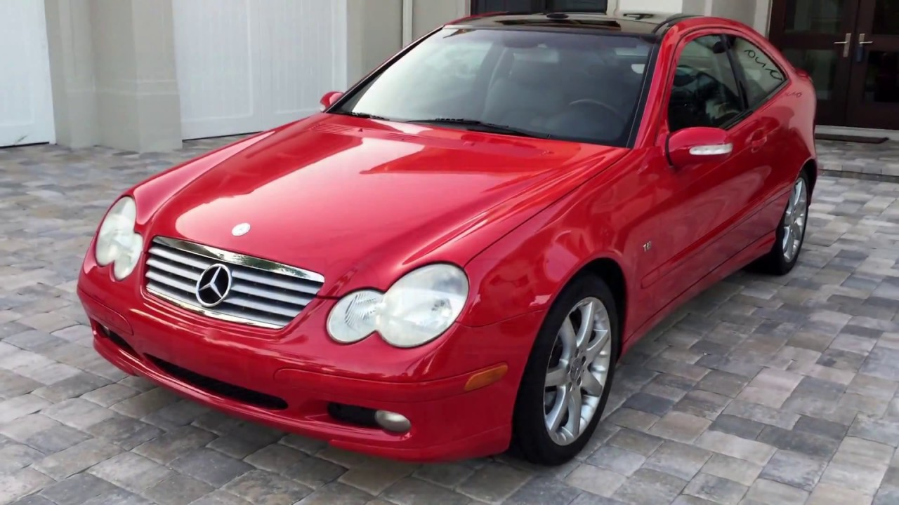 2003 mercedes benz c230 kompressor coupe for sale by auto. Black Bedroom Furniture Sets. Home Design Ideas