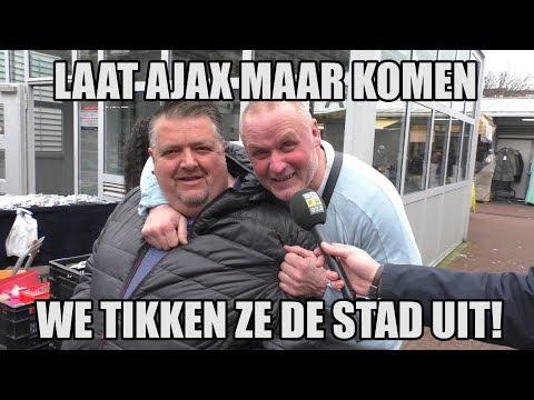 Straatvraag: Demonstratie AJAX-supporters in Den Haag