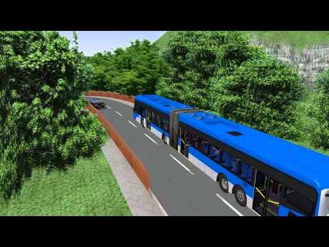 OMSI 2 MEP QUADBUS BRT SUPER ARTICULADO O'500 UDA + G27 #OMSI2 #OMSI