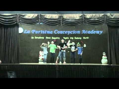 Generation X and Aquathyst LPCA Dance Group Paskong Paslit Performance