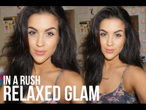 Morning routine on a rush! - No make up make up glowy look from YouTube · Duration:  5 minutes 9 seconds