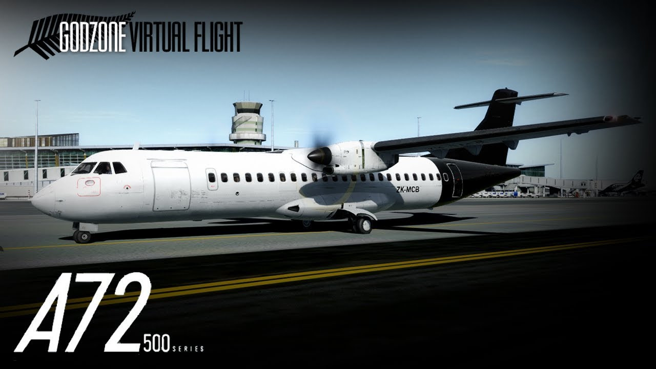 NEW ADDONS! | Carenado ATR 72-500 Takeoff at NZCH Godzone VF Christchurch |  Prepar3D v4 5