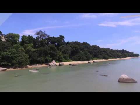 Pantai Tanjung Bidara Melaka Drone