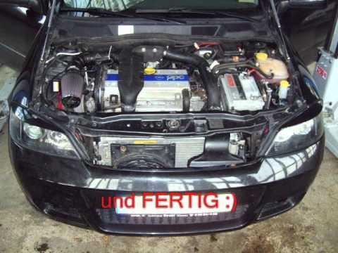 Astra G Z20let Motorumbau 1 6 16v Auf 2 0 16 Turbo