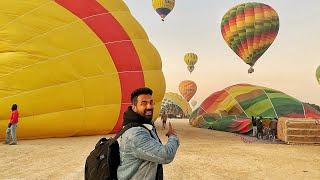 تجربة المنطاد في الاقصر على ارتفاع  ٦٠٠ متر  !!!Luxor AirBaloon above 600meters !!!