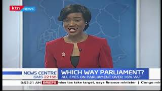 What options does the parliament have concerning the VAT proposal?