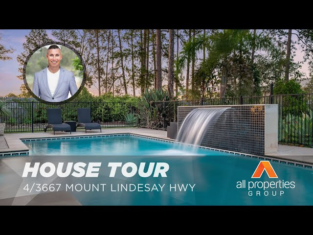 HOUSE TOUR | 4/3667 Mount Lindesay Highway Park Ridge | CHRIS GILMOUR