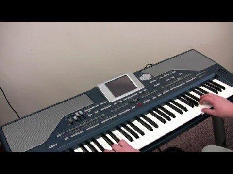 korg PA800 demo Big Band