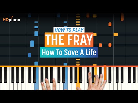 """How To Play """"How To Save A Life"""" by The Fray 