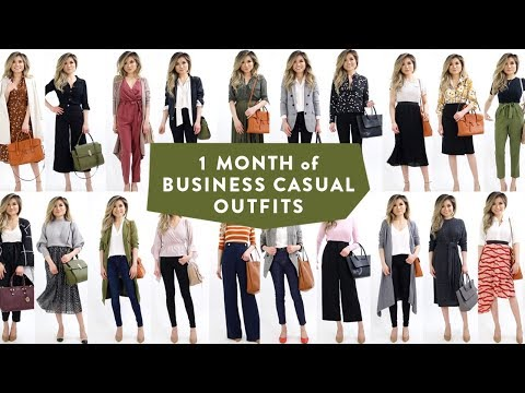 1 Month Of Business Casual Outfit Ideas