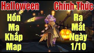 [Gcaothu] Alice Halloween thả Hồn Ma khắp Map - Trang phục sổ sứ mệnh chính thức ra mắt