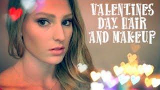 Valentines Day Hair & Makeup!♥ Thumbnail