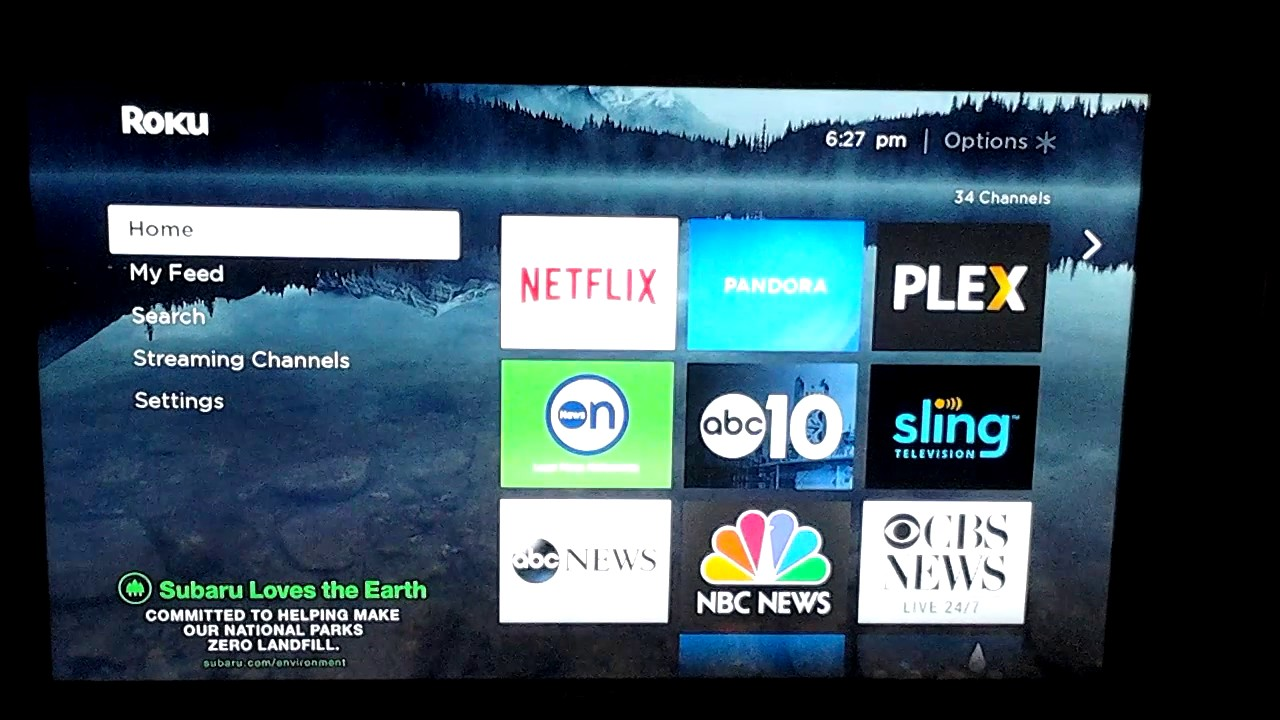 Install roku media player app