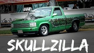 "Surging Blown Pro Street BEAST! ""Skullzilla"""