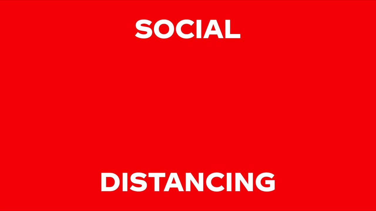 Stay Safe: Social Distancing #COVID19