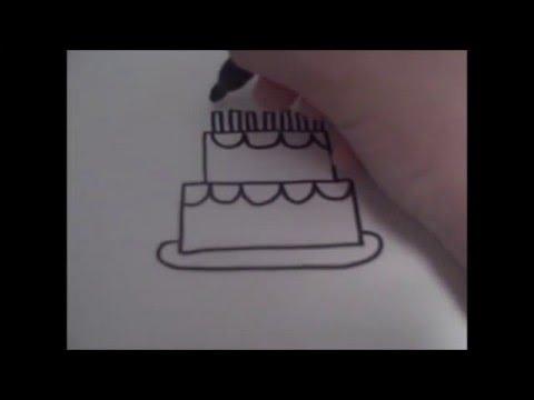 Cum Desenam Un Tort Pas Cu Pas