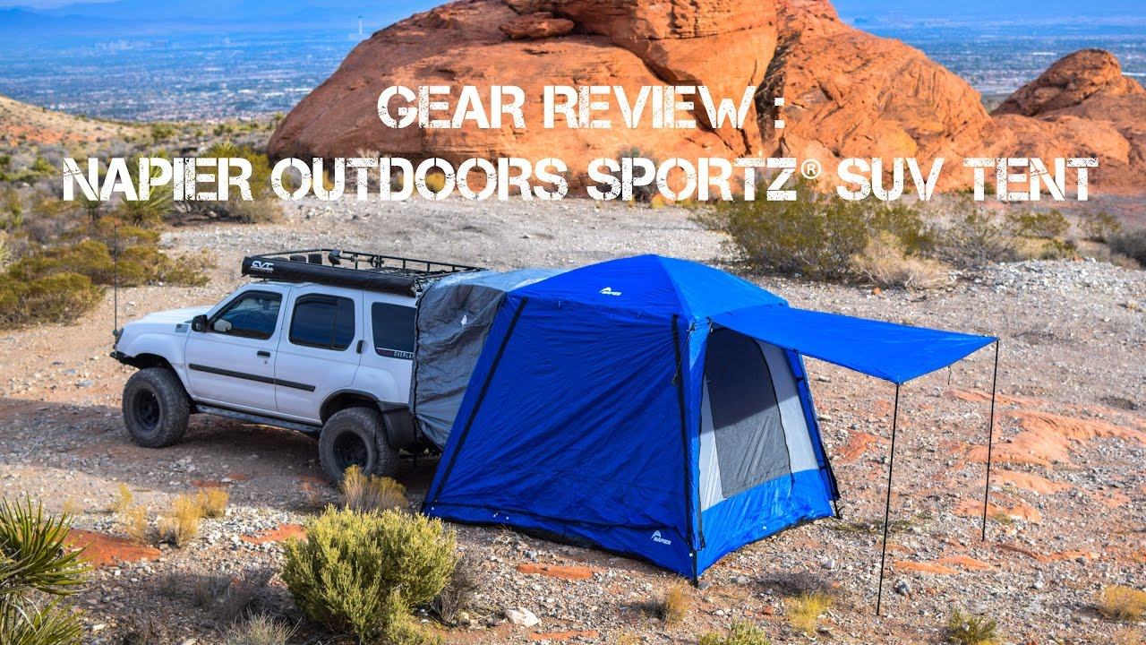 906c3ce5baa Napier Outdoors Sportz SUV Tent Review - YouTube
