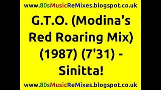 G.T.O. (Modina's Red Roaring Mix) - Sinitta!   80s Dance Music   80s Club Mixes   80s Club Music