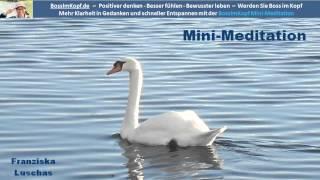 Anleitung zur Mini-Meditation: Schnell, einfach und wirksam (in 3 Minuten)