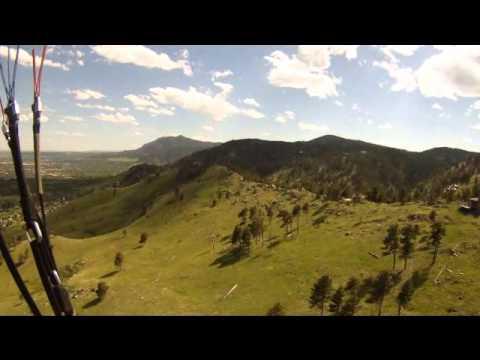 Boulder Co  Paragliding