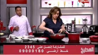 برنامج المطبخ – طريقة عمل كرات البطاطس بالدجاج والصوص الإبيض – الشيف أية حسنى – Al-matbkh