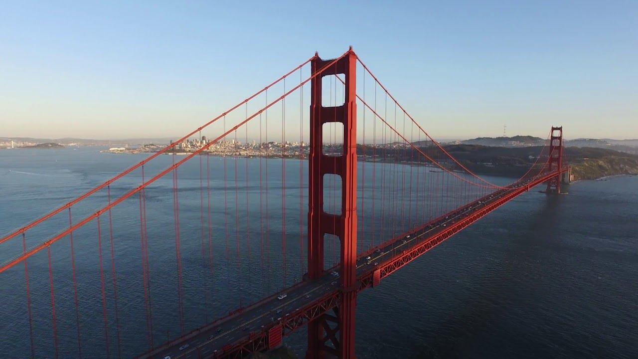 Golden Gate Bridge 4k: Golden Gate Bridge Drone Video In 4K